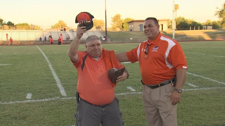 Scott Brown has been around Trevor Browne for decades and was honored for his dedication. (Source: 3TV/CBS 5)