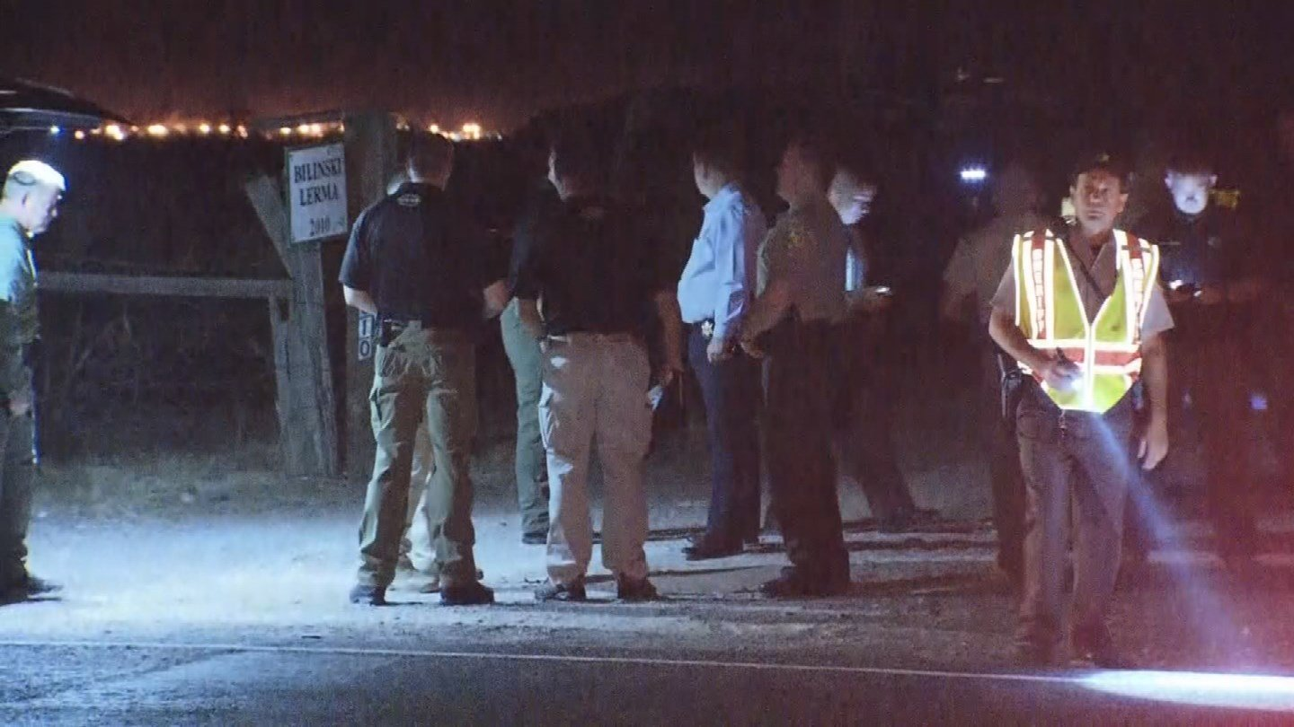 A manis in custody aftera deputy-involved shooting in Tonopah on Wednesday morning. (Source: 3TV/CBS 5)
