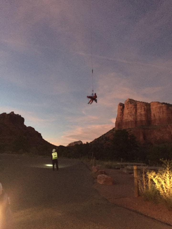 (Source: Sedona Fire Department via Facebook)
