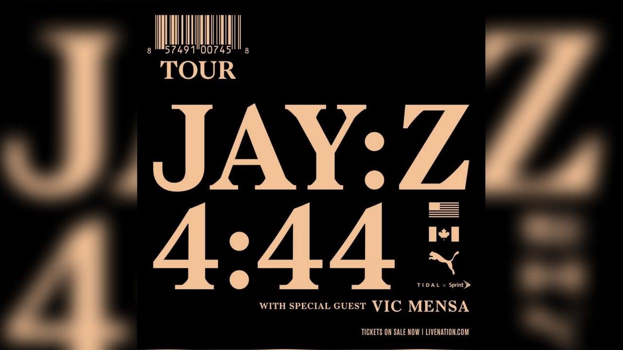 Jay Z announces Vic Mensa as opener for 4:44 Tour (Source: livenation.com)