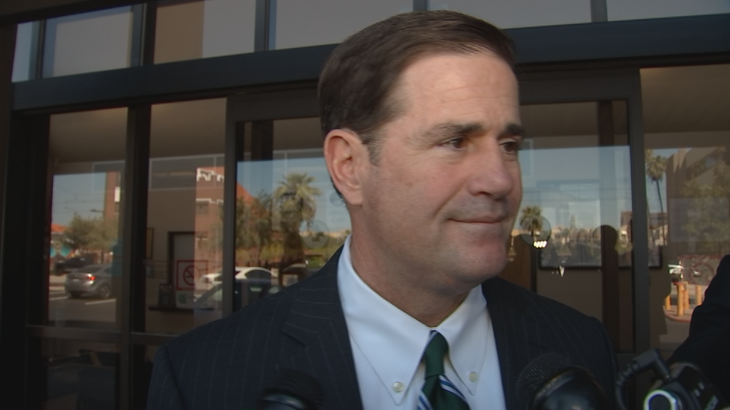 Gov. Doug Ducey doubled down on his endorsement the of the latest effort in Congress to repeal the Affordable Care Act even though he doesn't know the full impact it will have on Arizona. (Source: 3TV/CBS 5)