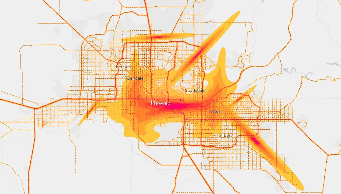 (Source: National Transportation Noise Map)