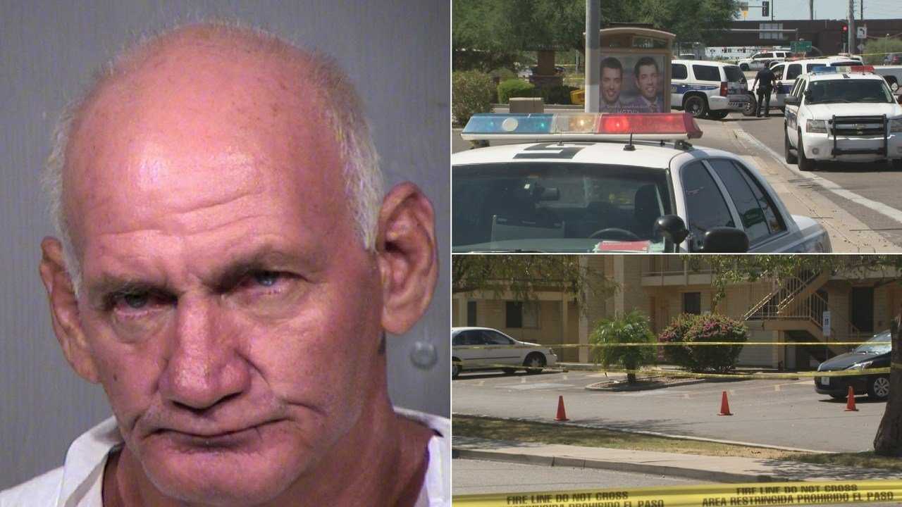 A 58-year-old man allegedly stabbed and killed another man after entering his personal space on Tuesday, according to Phoenix police. (Source: 3TV/CBS 5/MCSO)
