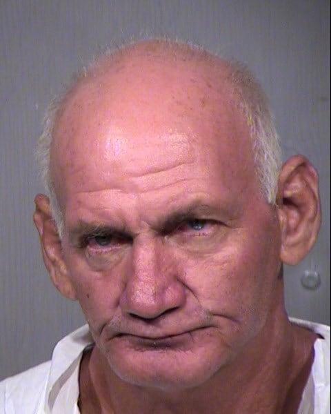 Mug shot of 58-year-old Richard Rains. (Source: MCSO)