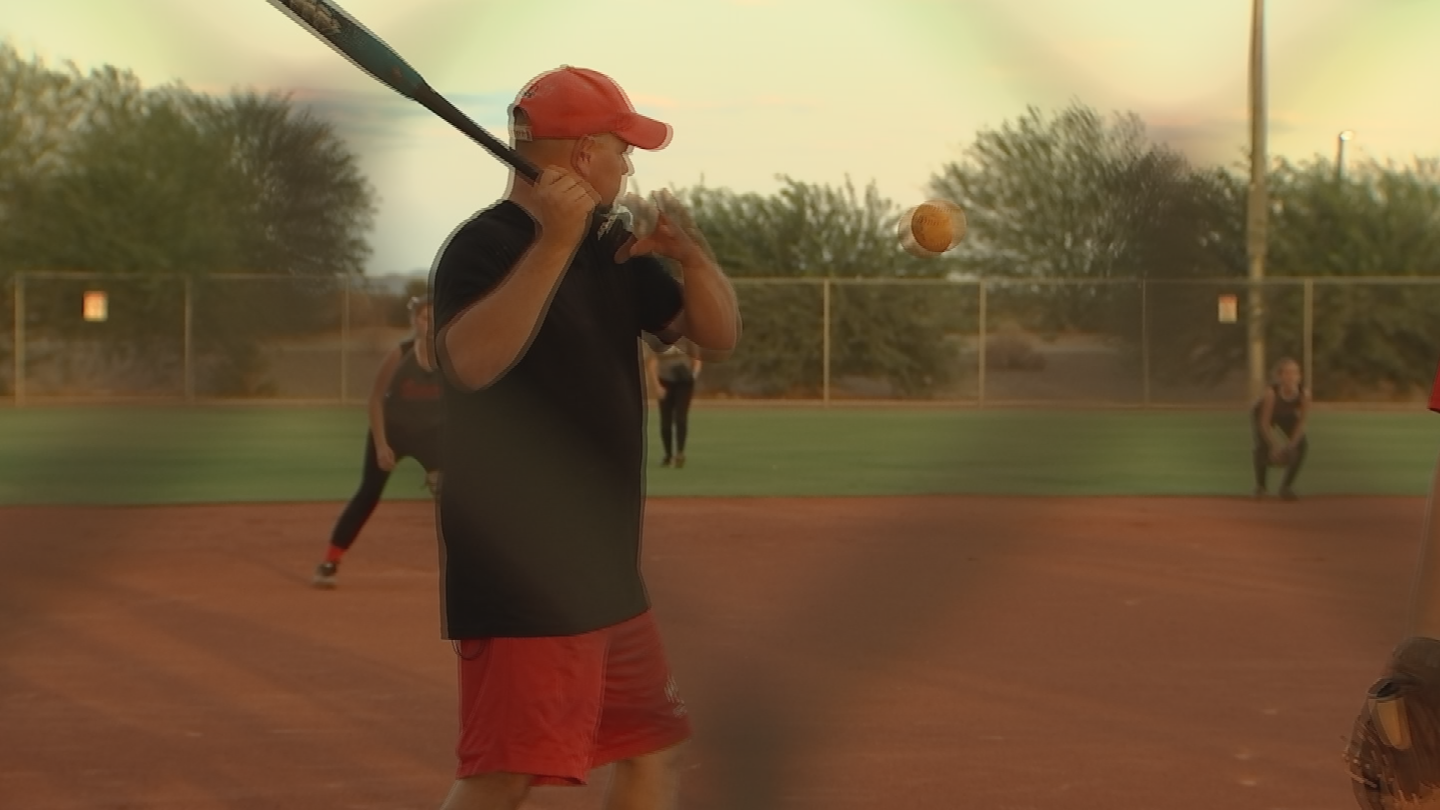 O'Dell started the Maricopa Sandlot Club softball team as a way to expose girls to a sport that's not only fun but also life-changing. (Source: CBS 5)