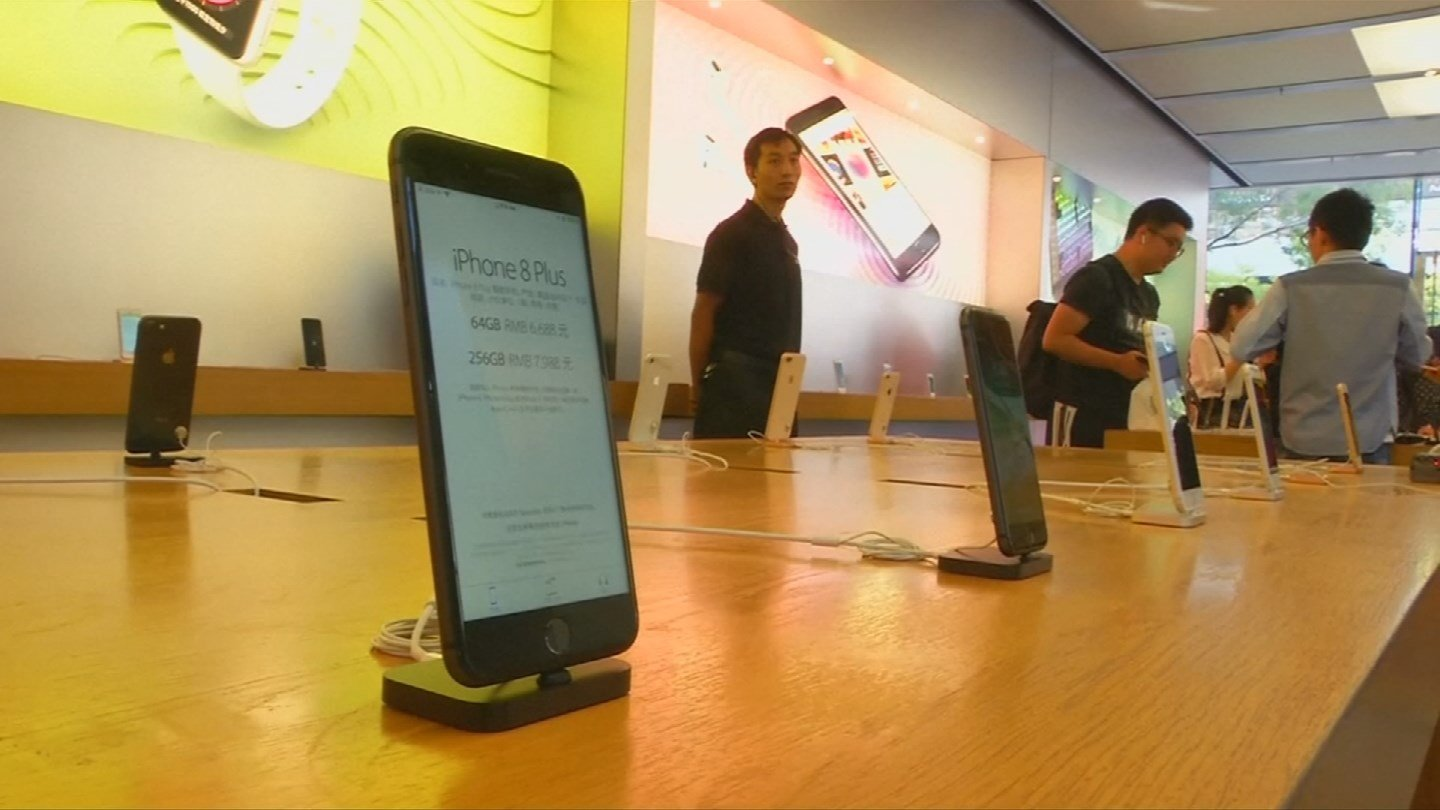 Apple Stores across Phoenix will be selling the new iPhone 8 to eager customers when doors open at 8 a.m. (Source: CNN)