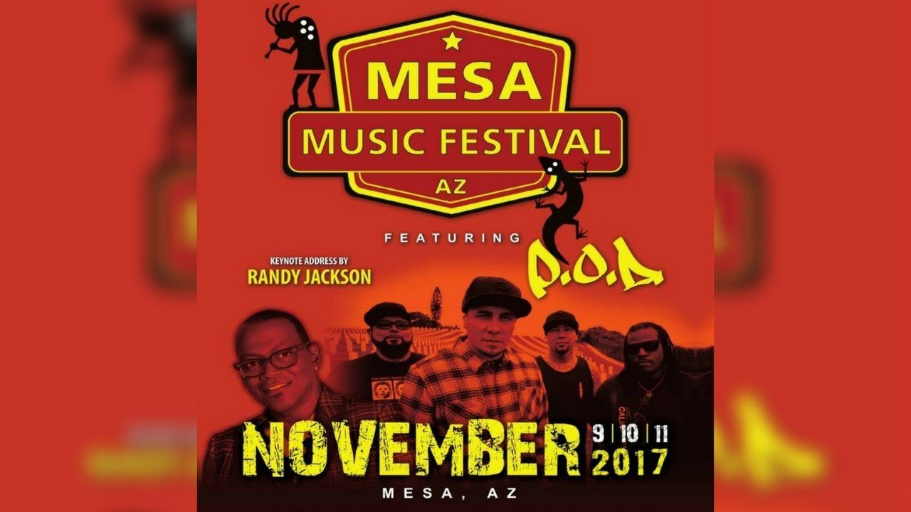 P.O.D. will headline the Mesa Music Festival. (Source: Mesa Music Festival)