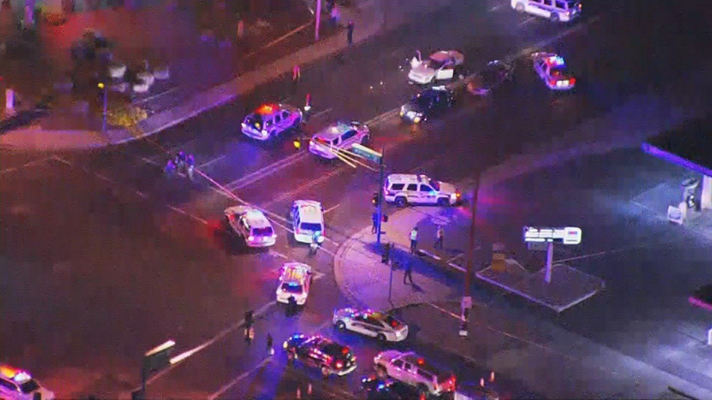 One man is dead and two others are injured after a road-rage shooting in Phoenix. (Source: 3TV/CBS 5)