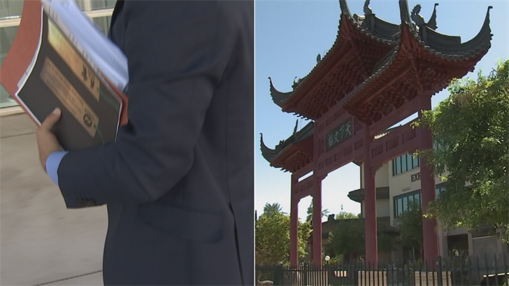 A lawsuit was filed on Monday in hopes of saving the Chinese Cultural Center in Phoenix. (Source: 3TV/CBS 5)