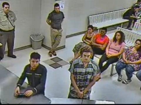 Initial court appearance for Nicholas Van Varenberg (Source: Maricopa Co. Superior Court)
