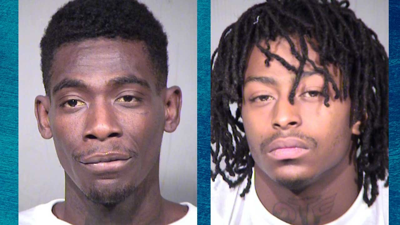 Oshay Small, 24 (left), and Cornelius Wells, 21 (Source: Maricopa County Sheriff's Office)