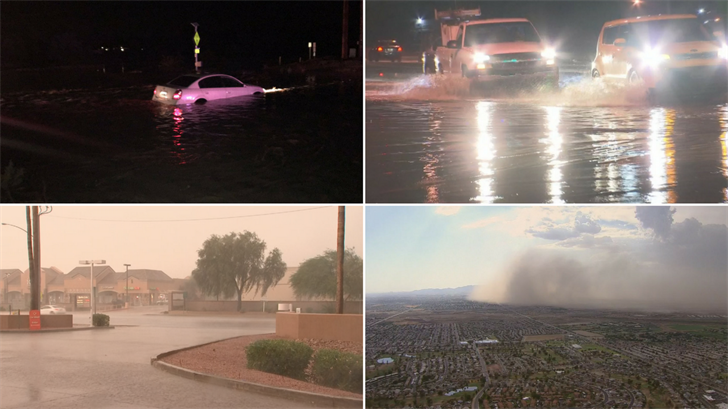 There were only nine days of rain during the monsoon in the Valley. (Source: 3TV/CBS 5)