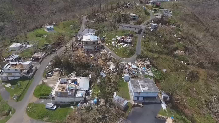 The hurricane has left the island devastated. (Source: 3TV/CBS 5)