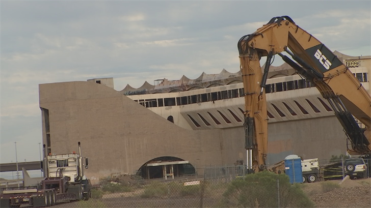 The Phoenix Horse Trotting Park will be turned to rubble on Wednesday. (Source: 3TV/CBS 5)