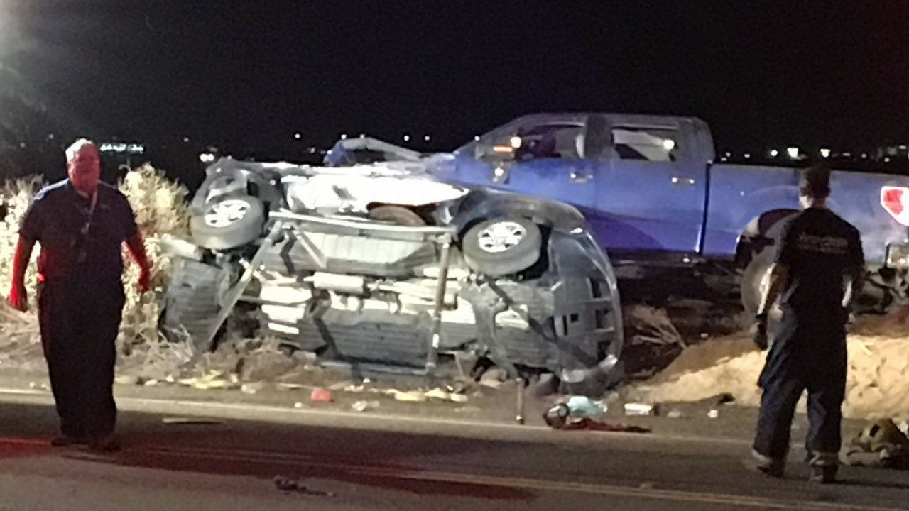 A man was trapped for over an hour inside of his vehicle after an overnight accident in Avondale that injured three. (Source: 3TV/CBS 5)