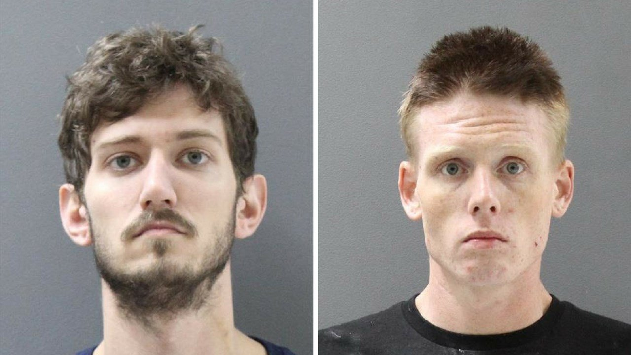 Joel Honeycutt and roommate Thomas Ambergey charged with selling heroin out of Prescott hotel. (Source: Yavapai County Sheriff's Office)