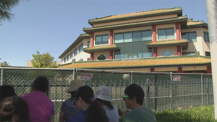A judge upheld a restraining order to prevent True North from renovating the Chinese Cultural Center. (Source: 3TV/CBS 5)