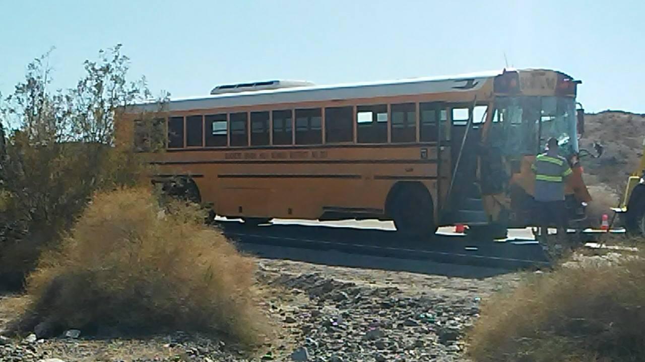 Arizona school bus crashes in California; injuries reported