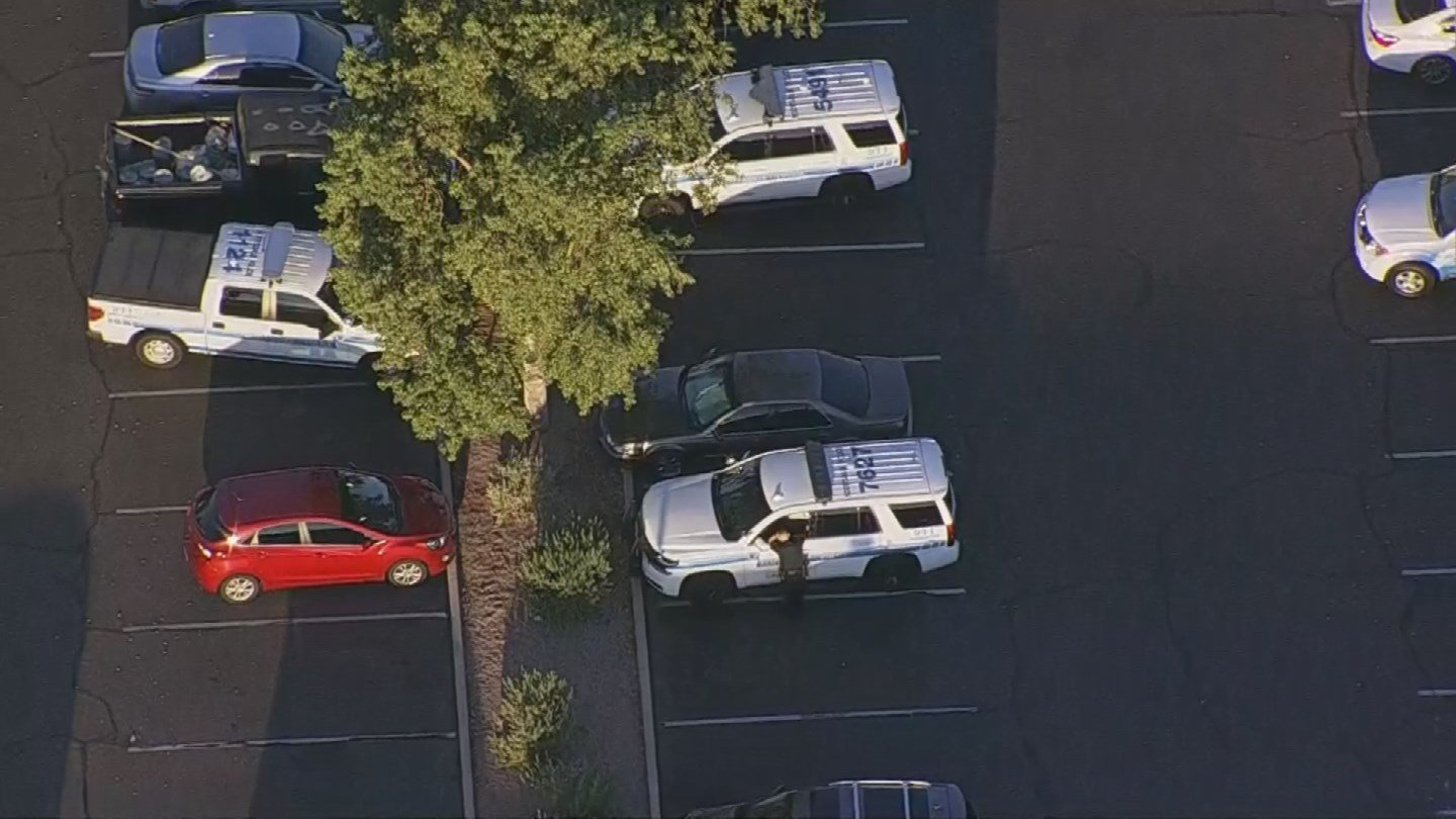 A BMW was stolen at gunpoint at a Scottsdale Starbucks early Friday morning. (Source: 3TV/CBS 5)