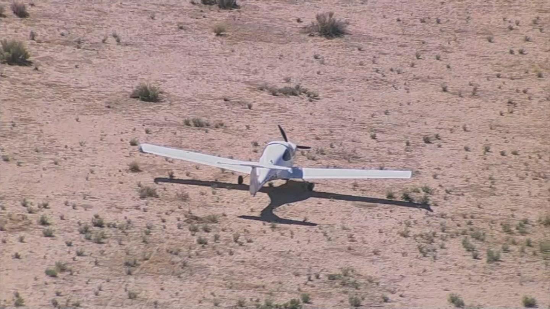 Small plane lands in field near Goodyear (Source: 3TV/CBS 5)