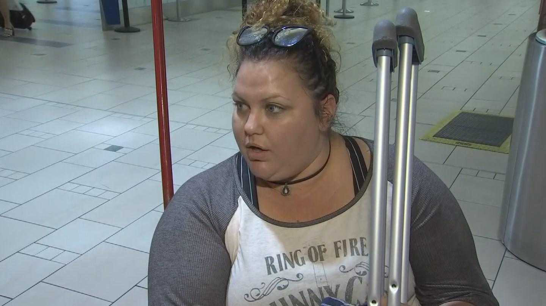 Tanya Groff, injured in Las Vegas shooting incident. (Source: 3TV/CBS 5 News)