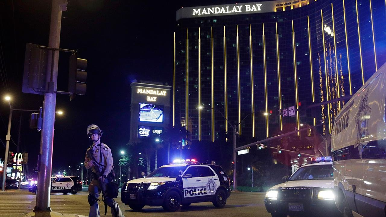 Mandalay Bay, Las Vegas. (Source: AP)