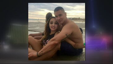 Officer Francisco Calzadillas was not hurt, but his wife Jovanna is now in critical condition. (Source: 3TV/CBS 5)