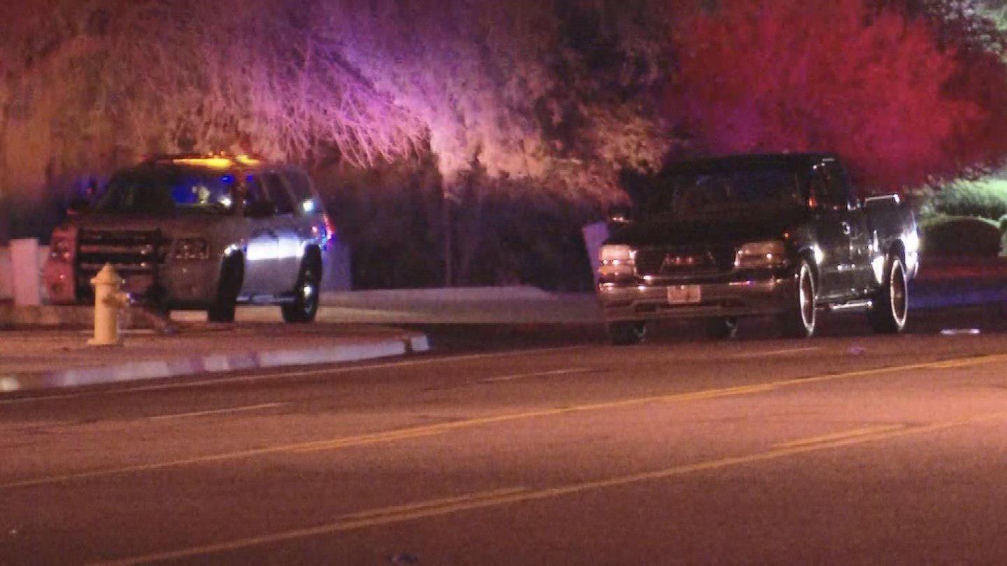 The Phoenix Police Department is investigating a serious collision involving a pedestrian early Tuesday morning. (Source: 3TV/CBS 5)