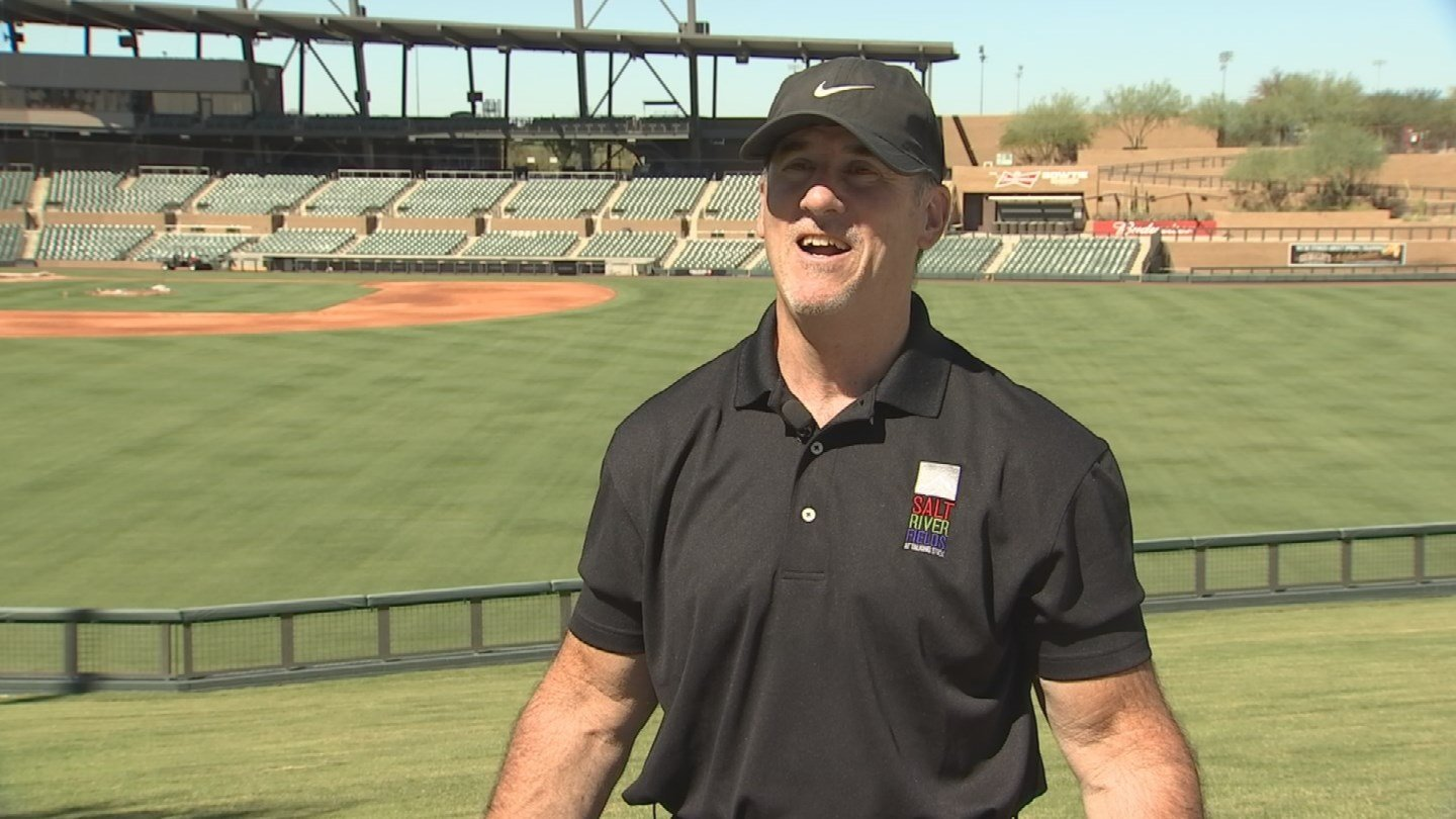 Power pitches, hard hits, and impressive defense between the Arizona Diamondbacks and Colorado Rockies are all a part of a day in the life for Dave Dunne. (Source: 3TV/CBS 5)