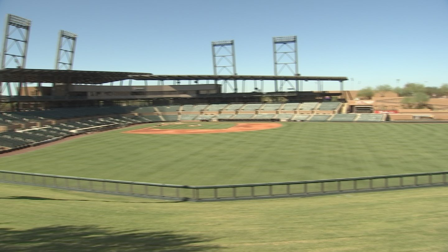 Salt River Fields is home of both the Arizona Diamondbacks and the Colorado Rockies. (Source: 3TV/CBS 5)