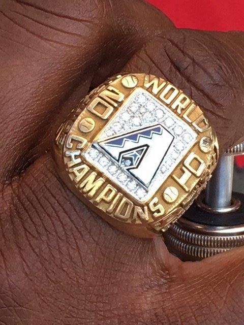 The DBacks gave McGuire a 2001 World Series ring