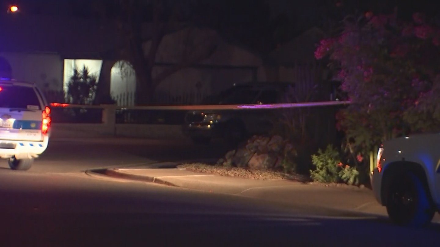 One man was found dead in the streets after a shooting in Phoenix, according to police. (Source: 3TV/CBS 5)