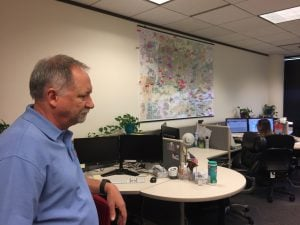 Tom McSherry has been in the crisis prevention and response business for more than 30 years. (Source: Kianna Gardner/Cronkite News)