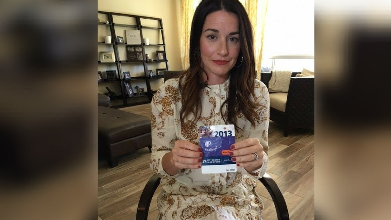 Chandler mom Elena Breese survived the 2013 Boston Marathon bombing and now what's to help other trauma victims better cope with PTSD. (Source: 3TV/CBS 5 News)