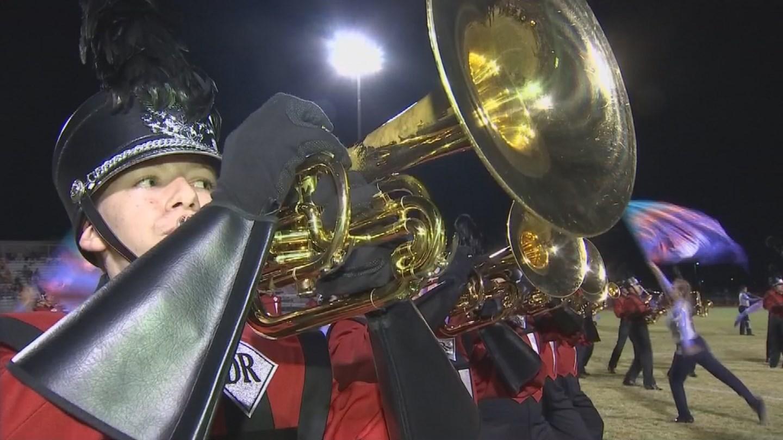Desert Ridge High Band. (Source: 3TV/CBS 5 News)