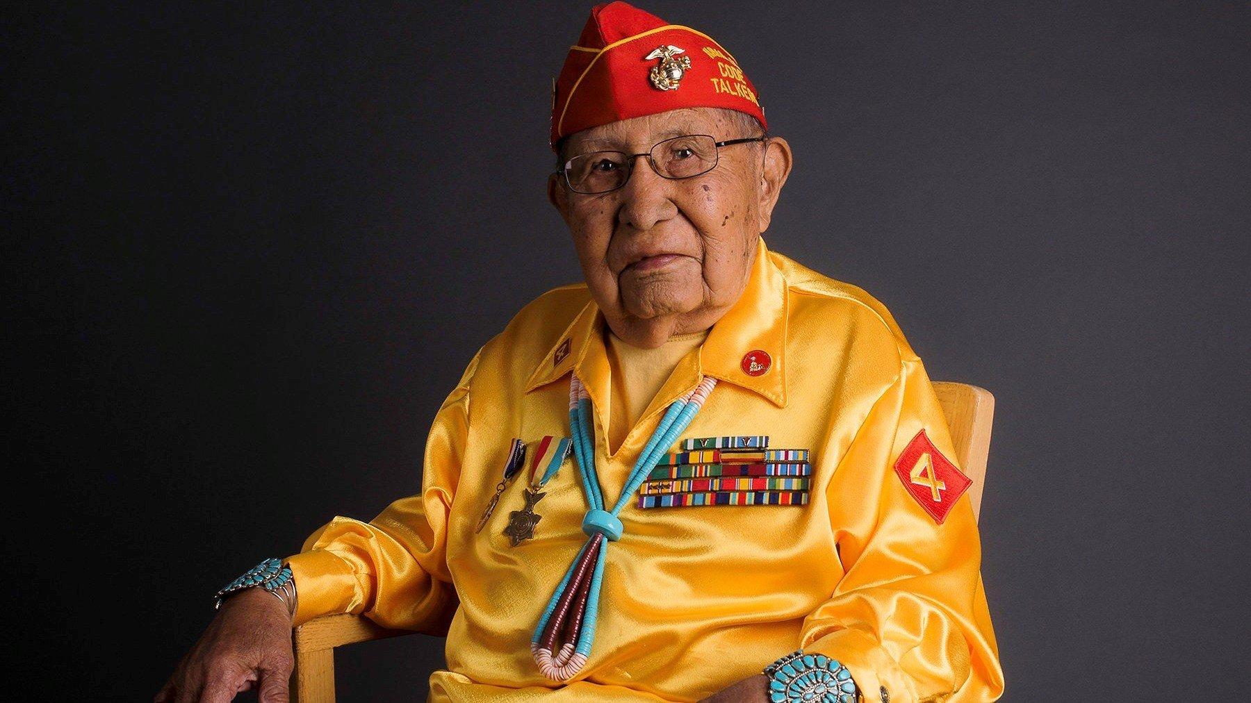 David Patterson Sr., Navajo Code Talker. (Source: Navajo Nation)