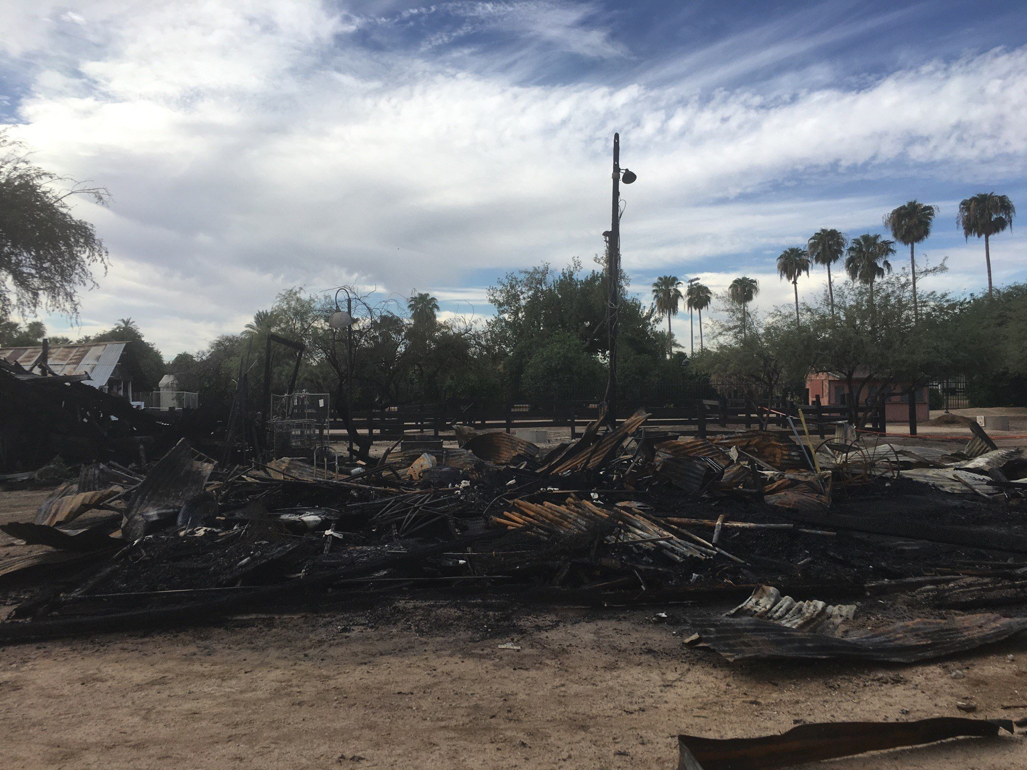 Glendale police said no one was hurt during the incidents and through the quick actions of the police and fire departments, the damage did not spread to other buildings in the surrounding areas. (Source: 3TV/CBS 5)