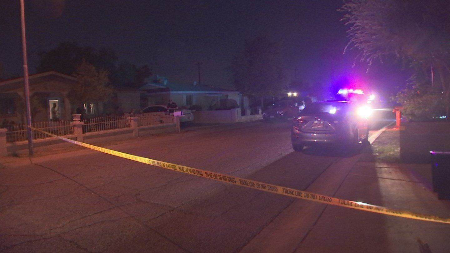 A woman was shot for unknown reasons late Sunday night while standing in front of her Phoenix home. (Source: 3TV/CBS 5)