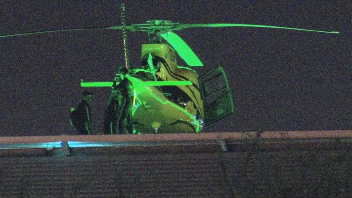 The officer was transported via helicopter to Banner United Medical Center in Phoenix in serious condition. (Source: 3TV/CBS 5)