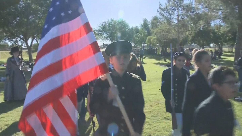 Desert Shadows Middle School Gettysburg re-enactment. (Source: 3TV/CBS 5 News)