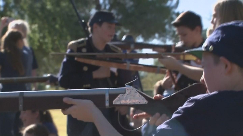 The battle of Gettysburg re-enactment. (Source: 3TV/CBS 5 News)
