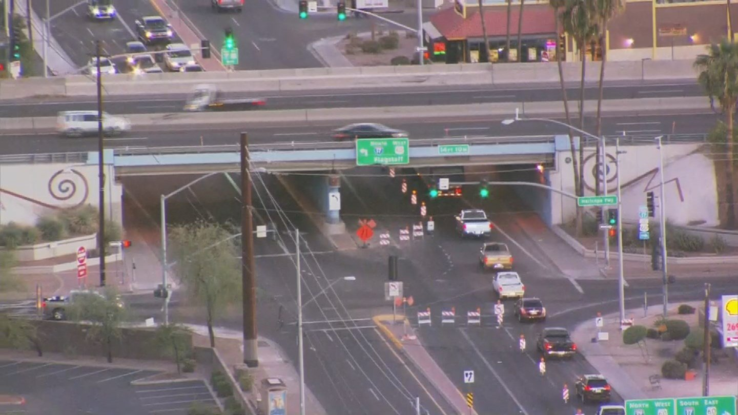 The I-17 bridge was inspected by bridge engineers and it is safe for travel while repairs are scheduled. (Source: 3TV/CBS 5)