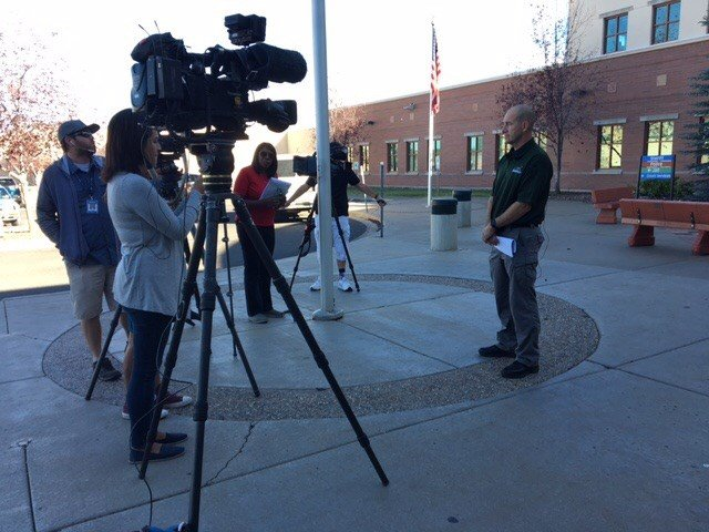 The Flagstaff Police Department talks about the disappearance of Cathryn Gorospe. (Source: 3TV/CBS 5)