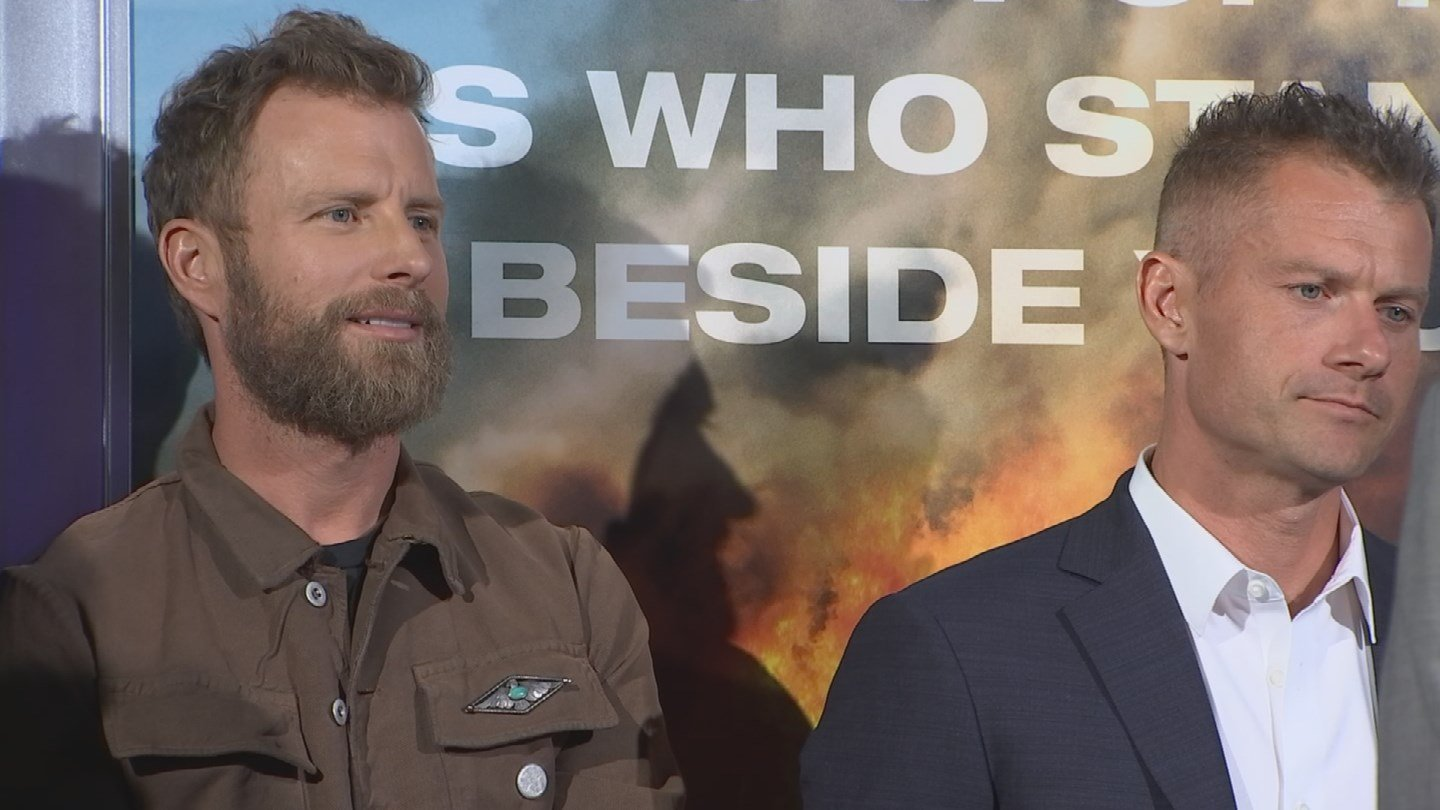 After the red carpet, a special screening was held with cast and crew members joined by Arizona firefighters and first responders. (Source: 3TV/CBS 5)