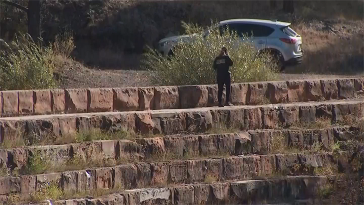 The family conducted their own search around the Santa Fe Reservoir in the town of Williams about 35 miles west of Flagstaff. (Source: 3TV/CBS 5)