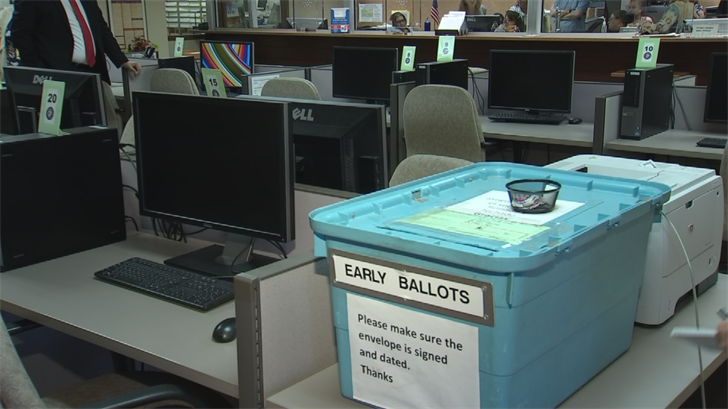 There are some questions about how secure this year's elections will be. (Source: 3TV/CBS 5)