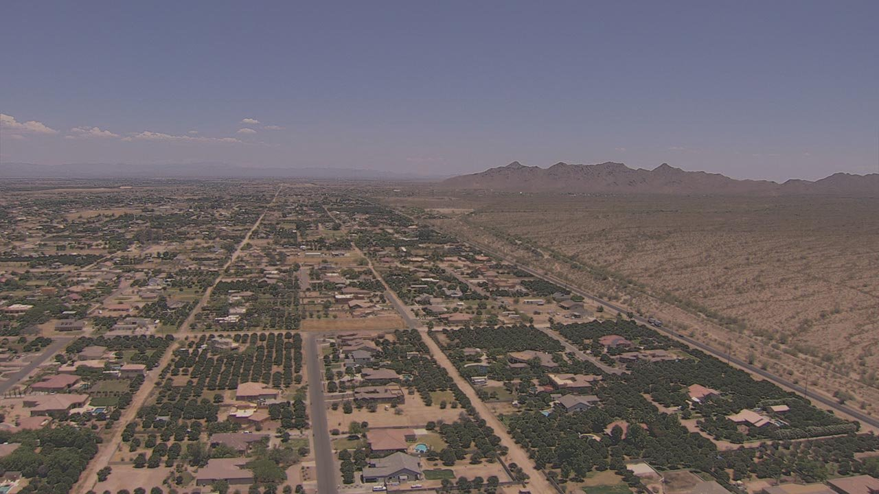 A petition drive is underway to make San Tan Valley on the southeastern fringe of metro Phoenix the state's next new municipality. (Source: 3TV/CBS 5)