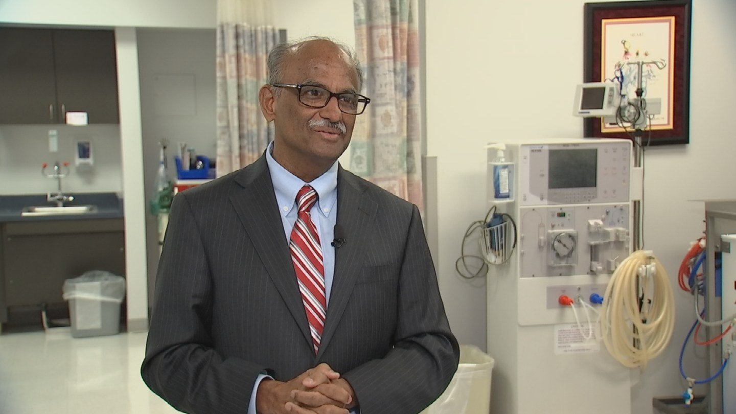Dr. Kris Vijay, MD, FACC, FACP, FNLA, FHFSA is the Medical Director of the Institute of Congestive Heart Failure at Abrazo Arizona Heart Hospital and Heart Institute in Phoenix. (Source: 3TV/CBS 5)