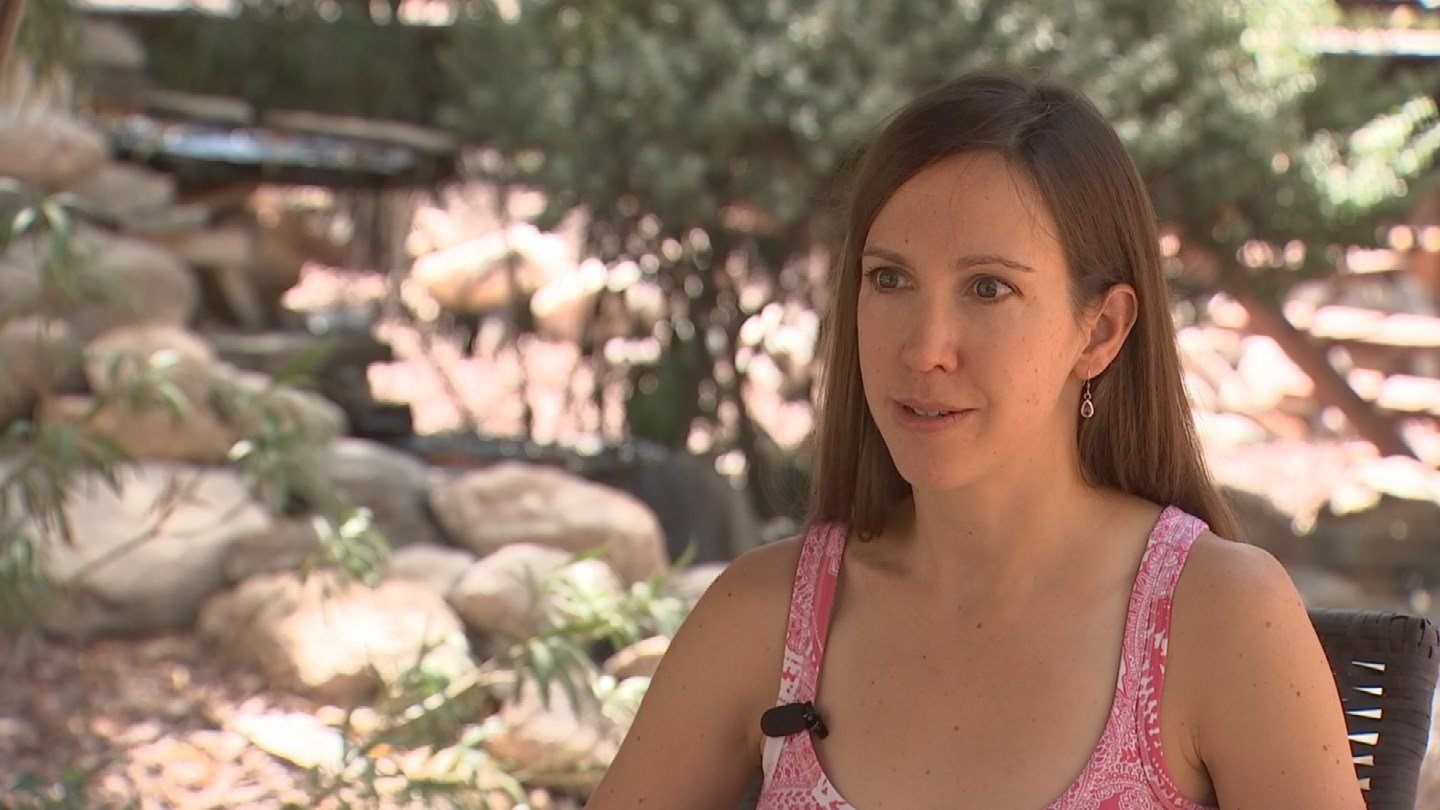 Now retired from professional cycling, Kathryn Bertine is working to eliminate the gender pay gap in sports. (Source: 3TV /CBS 5)