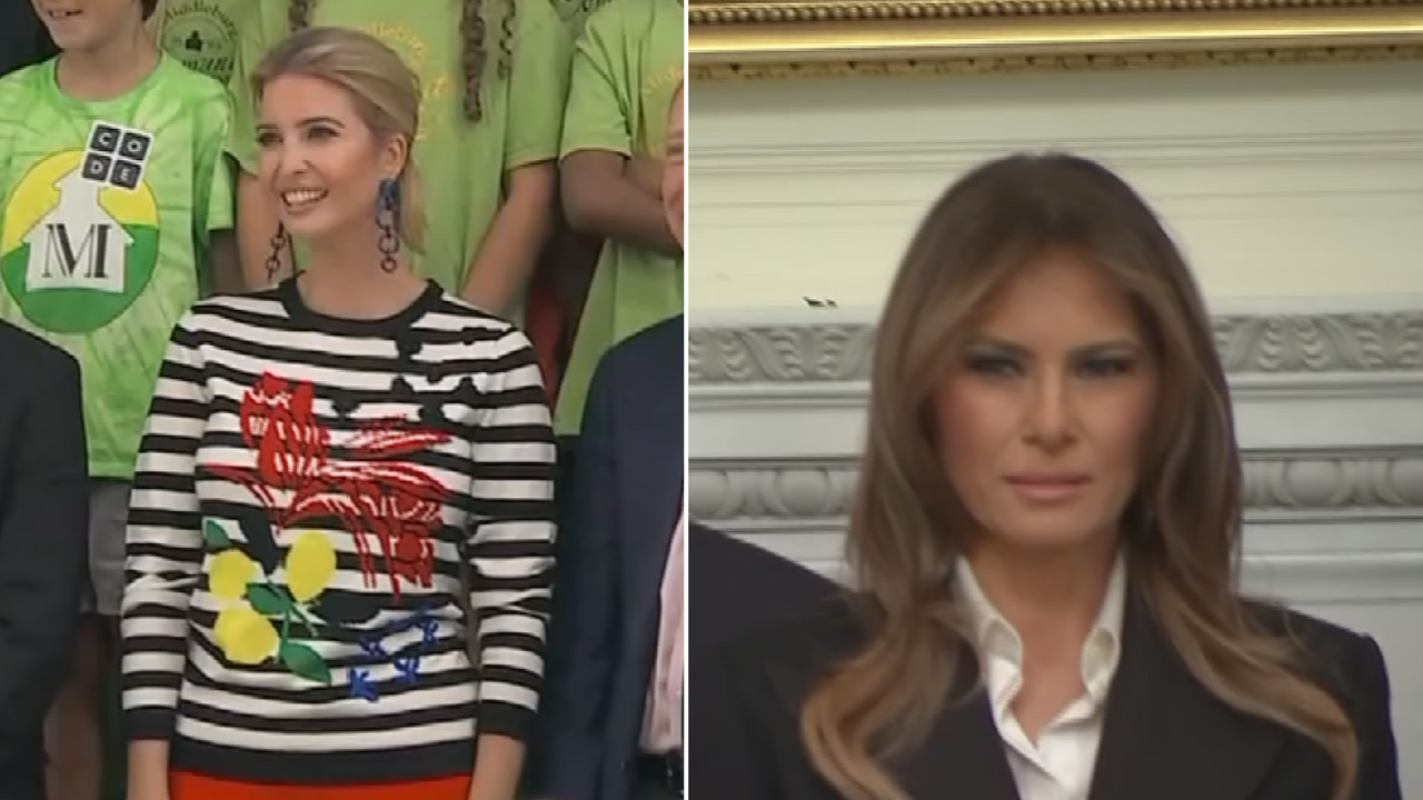 A trend in plastic surgery is to look like Ivanka and Melania Trump. (Source: CBS News)